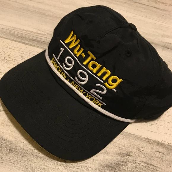 a7ea3e657 Vintage Wu Tang Clan Snapback
